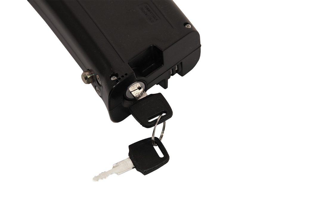 eflizzer klappbares E-Bike Sprint - Akku mit Schlüssel