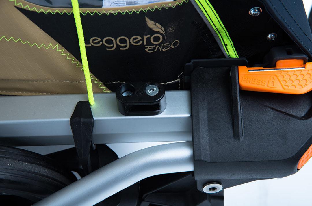 eflizzer Kinderanhänger Leggero Enso - Klicksystem