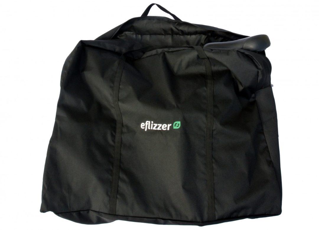 eflizzer Tragtasche - verpacktes Fahrzeug