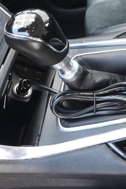 eflizzer Auto Solar Ladegerät im Auto 2